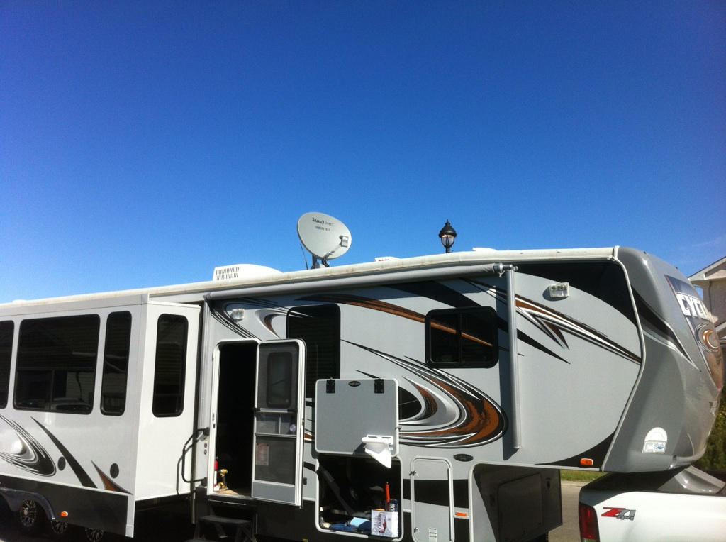 how to get satellite tv for rv